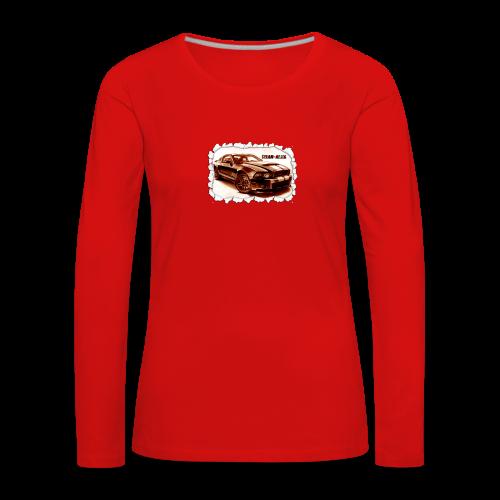 voiture - T-shirt manches longues Premium Femme