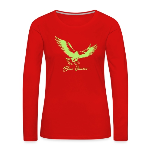Eagle Bow Hunter - Frauen Premium Langarmshirt