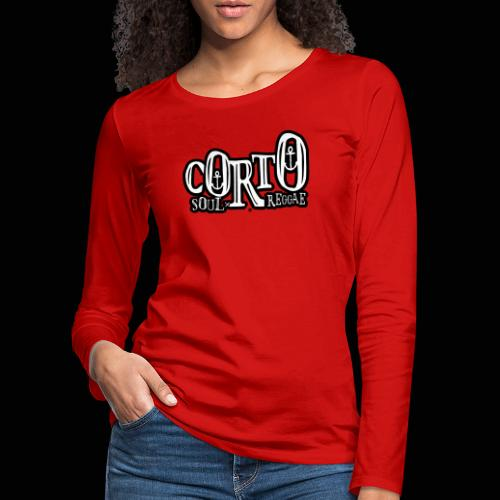 Corto, voyages Soul et Reggae - T-shirt manches longues Premium Femme