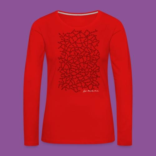 Nervenleiden 54 - Frauen Premium Langarmshirt