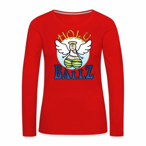 Holy Ballz Charlie - Women's Premium Longsleeve Shirt
