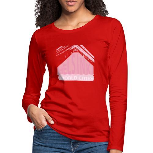 Helsinki light pink - Women's Premium Longsleeve Shirt