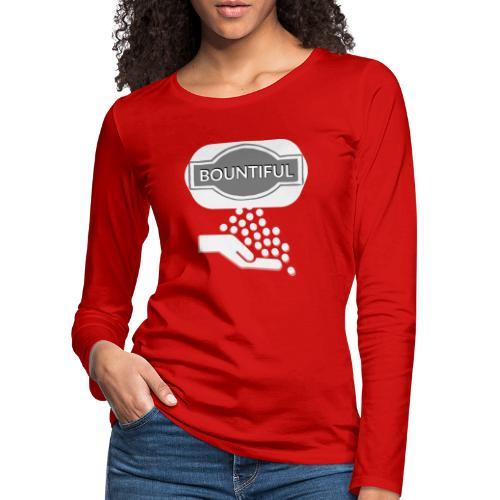 Bontiul gray white - Women's Premium Longsleeve Shirt