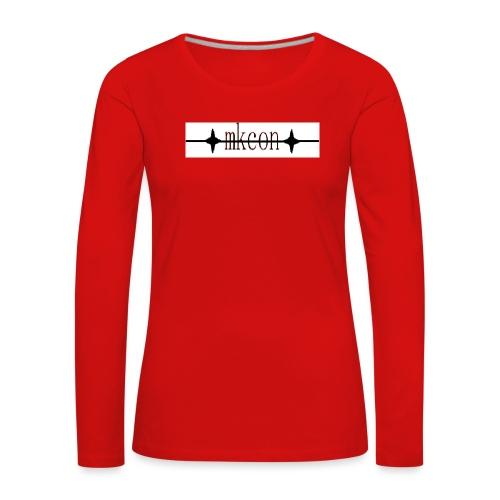 mkcon - Naisten premium pitkähihainen t-paita