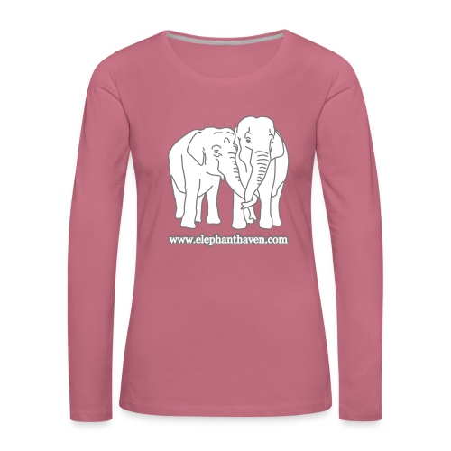 Elephants - Women's Premium Longsleeve Shirt