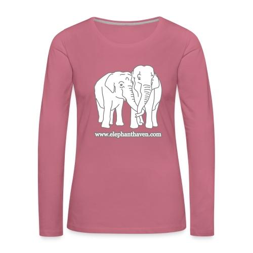 Elephants - Women's Premium Longsleeve Shirt