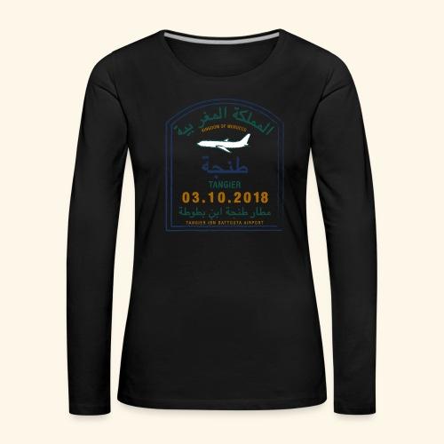 Tanger - T-shirt manches longues Premium Femme