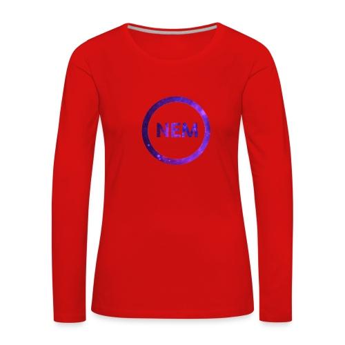 NEM OWNER - Naisten premium pitkähihainen t-paita