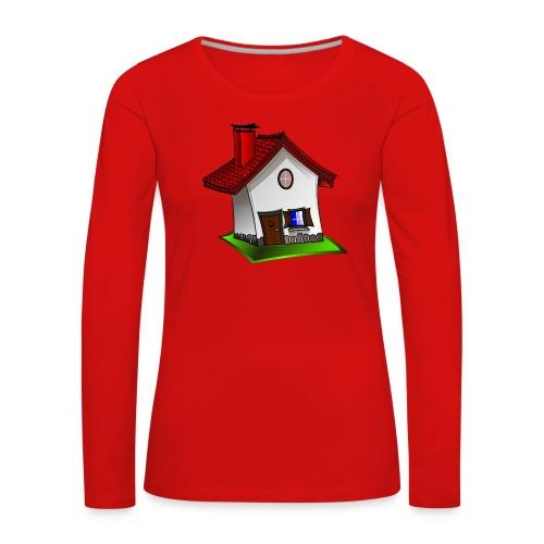 Haus - Frauen Premium Langarmshirt