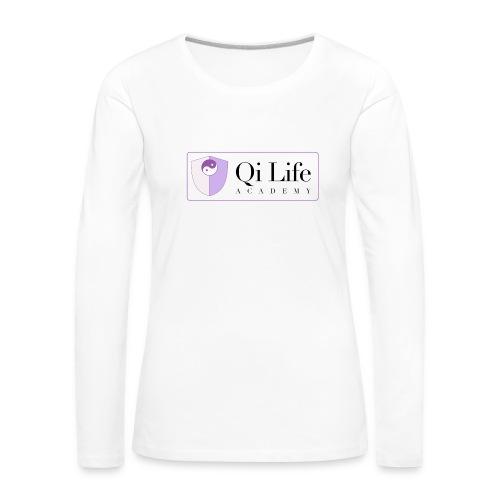 Qi Life Academy Promo Gear - Women's Premium Longsleeve Shirt