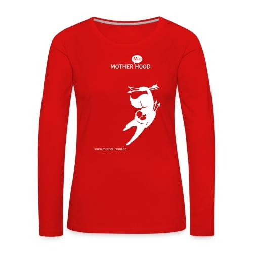 MotherHood_Powermum - Frauen Premium Langarmshirt