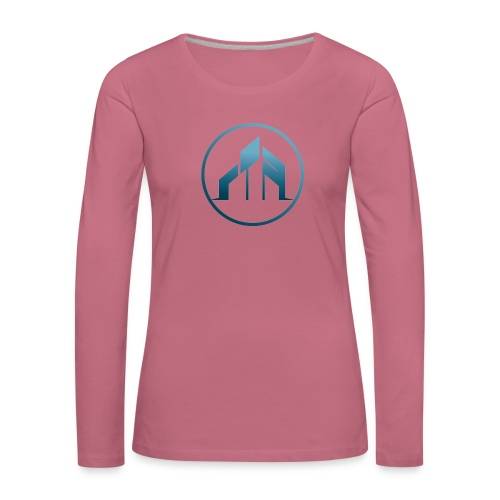 praise community church - Naisten premium pitkähihainen t-paita