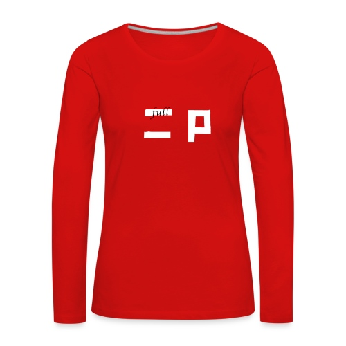 full p one - Dame premium T-shirt med lange ærmer