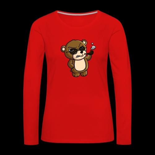 AngryTeddy - Women's Premium Longsleeve Shirt