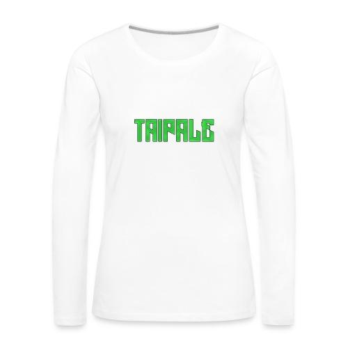 Taipale - Naisten premium pitkähihainen t-paita