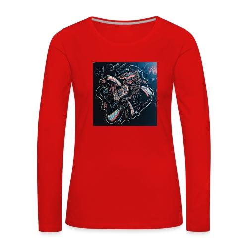 CD9 CARTEL - Camiseta de manga larga premium mujer
