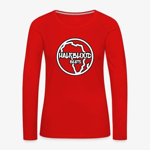 halfbloodAfrica - Vrouwen Premium shirt met lange mouwen