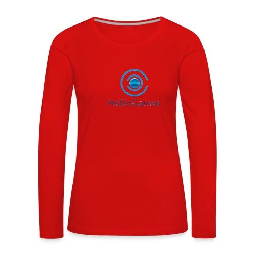 HasloGames Producten officieel logo - Vrouwen Premium shirt met lange mouwen
