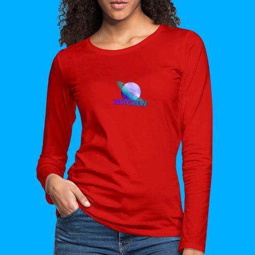 PurpleSaturn T-Shirt Design - Women's Premium Longsleeve Shirt