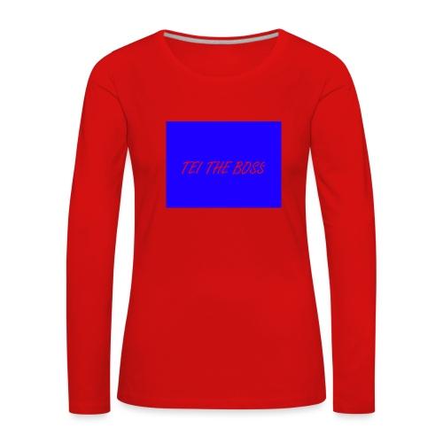 BLUE BOSSES - Women's Premium Longsleeve Shirt