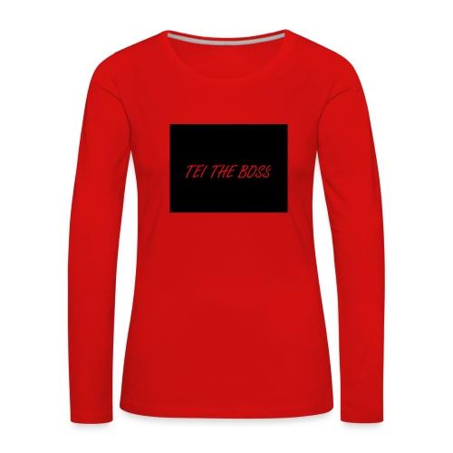 BOSSES - Women's Premium Longsleeve Shirt