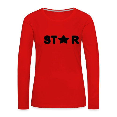i see a star - Women's Premium Longsleeve Shirt