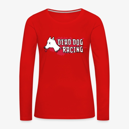 Dead dog racing logo - Women's Premium Longsleeve Shirt