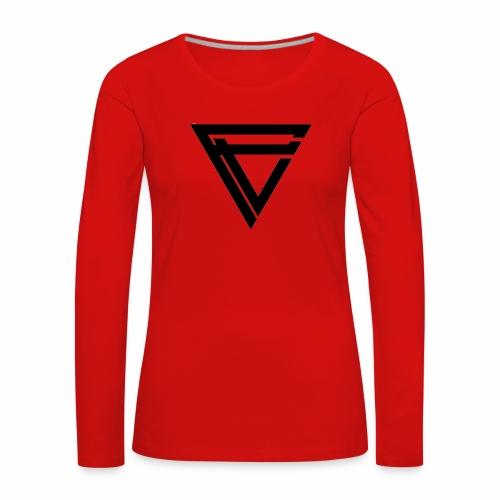 Saint Clothing T-shirt | MALE - Premium langermet T-skjorte for kvinner