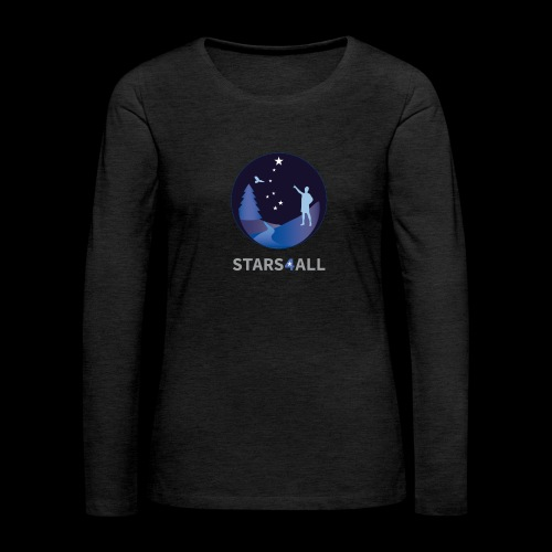 Stars4All - Camiseta de manga larga premium mujer