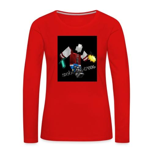Sebastian yt - Dame premium T-shirt med lange ærmer