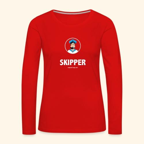 SeaProof Captain - Frauen Premium Langarmshirt