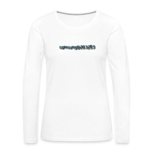 none - Frauen Premium Langarmshirt