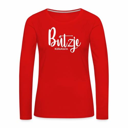 Bützje | KölleAlarm - Frauen Premium Langarmshirt