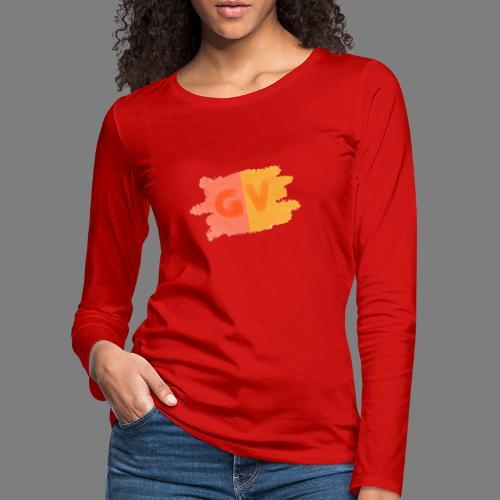 GekkeVincent - Vrouwen Premium shirt met lange mouwen