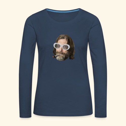 Ola Conny: Turnt Up Collection - Långärmad premium-T-shirt dam