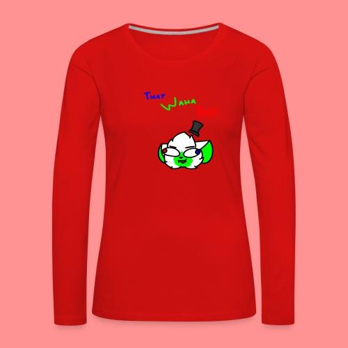 The Waha Boi - Women's Premium Longsleeve Shirt
