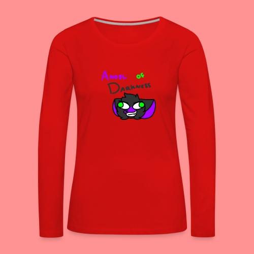 Angel Of Darkness - Women's Premium Longsleeve Shirt
