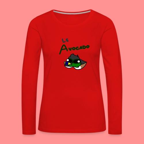 Le Avocado - Women's Premium Longsleeve Shirt