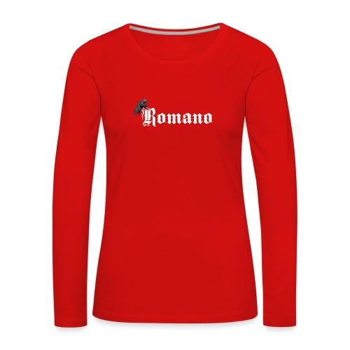 626878 2406603 romano23 orig - Långärmad premium-T-shirt dam