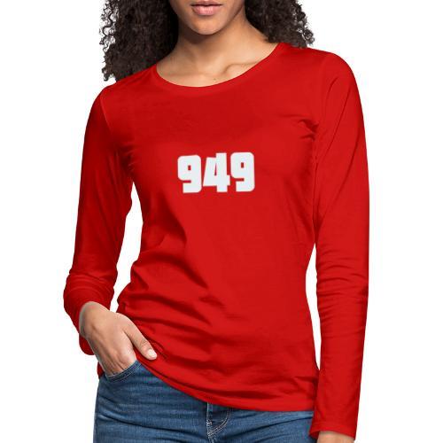 949withe - Frauen Premium Langarmshirt