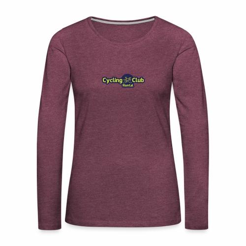 Cycling Club Rontal - Frauen Premium Langarmshirt