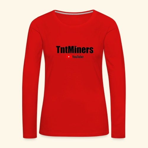 tnty - Långärmad premium-T-shirt dam
