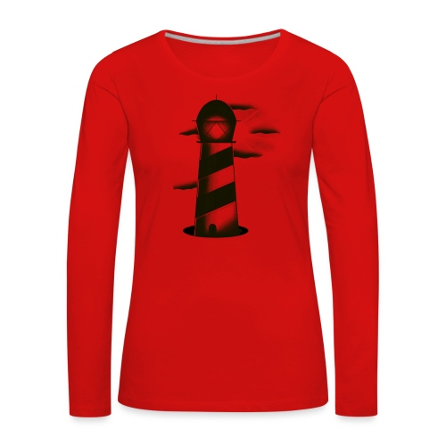 faro shirt - Maglietta Premium a manica lunga da donna