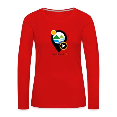 CCTV Picto - T-shirt manches longues Premium Femme