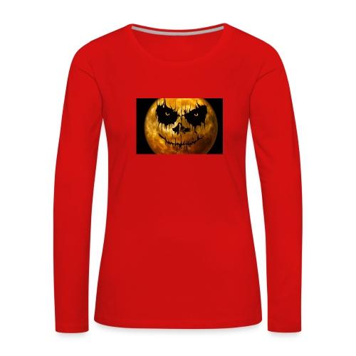 Halloween Mond Shadow Gamer Limited Edition - Frauen Premium Langarmshirt