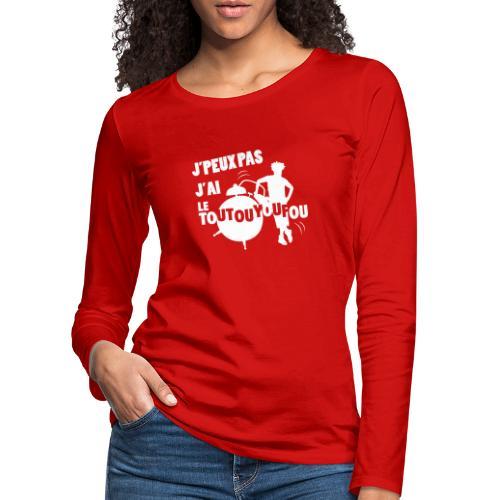 JPEUXPAS BLANC - T-shirt manches longues Premium Femme