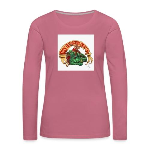 DiceMiniaturePaintGuy - Women's Premium Longsleeve Shirt