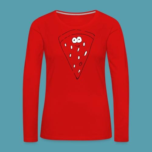 vesimelooni - Naisten premium pitkähihainen t-paita