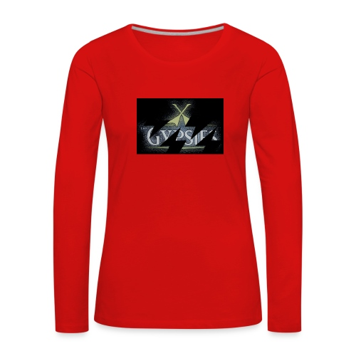 GYPSIES BAND LOGO - Women's Premium Longsleeve Shirt