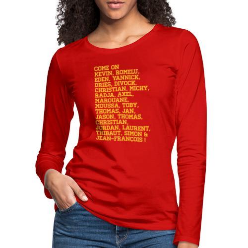duivelse voornamen - T-shirt manches longues Premium Femme